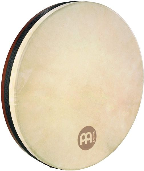 Meinl Percussion 16 inch Goat Head Bendirs Frame Drums - brown - FD16BE